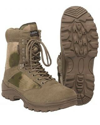 US TACTICAL Lightwight A-TACS FG BOOTS Army Outdoor Stiefel Gr. 46