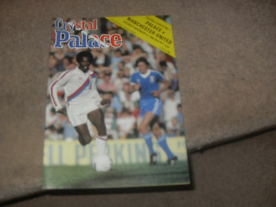 Crystal Palace v Manchester United 1/11/80