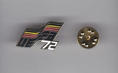 """Germany """" Uefa'72""""  - lapel badge butterfly fitting"""