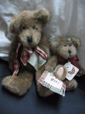 2 Plush Boyd's Bears- 1 Large & 1 Small
