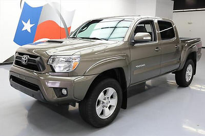 2015 Toyota Tacoma Pre Runner Crew Cab Pickup 4-Door 2015 TOYOTA TACOMA DOUBLE CAB TRD SPORT REAR CAM 37K MI #065799 Texas Direct
