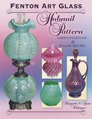 Fenton Glass Hobnail Pattern book Cranberry Opalescent