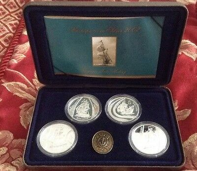 Royal Australian Mint Masterpieces In Silver 2002. Voyages Into History.
