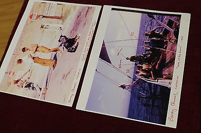 Chuck Dent - Barry Church Surfing The Ranch SB 1960's 8x11in. Photo - Lot of 2