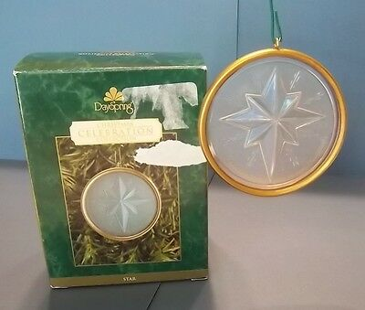"""2001 Dayspring Christmas Celebration Collection """"Star"""" Ornament"""