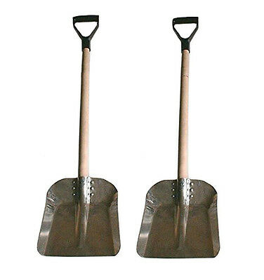Snow shovel Aluminum Scoop with D Grip for cars - 2 Pcs
