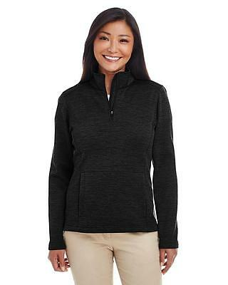 Ladies Newbury Molange Fleece Quarter-zip-DG798W
