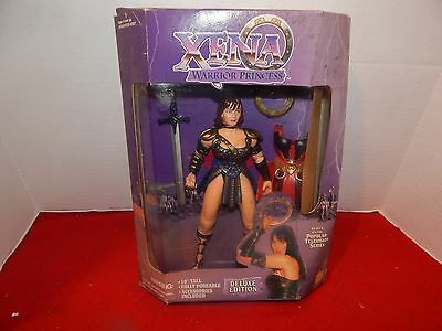 Xena Warrior Princess Deluxe Edition Fantasy Action Figure Poseable Toy Biz Doll