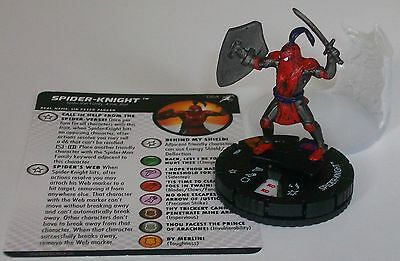 SPIDER-KNIGHT 064 Superior Foes Of Spider-Man Marvel HeroClix Chase Rare