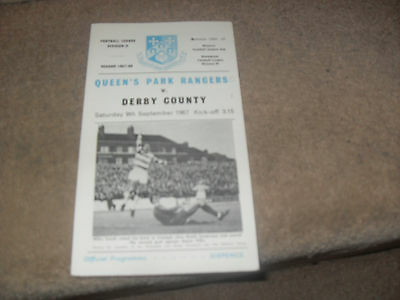 Queens Park Rangers v Derby County 9/9/67