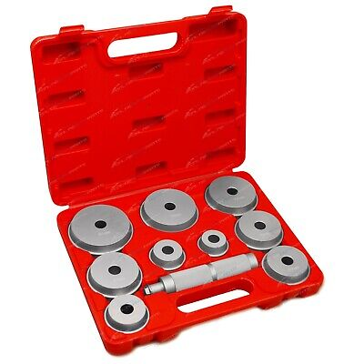 11pce Wheel Bearing Race Seal Driver Set Garage Tool Professional Aluminium Kit