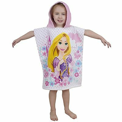 Disney Princess Poncho Towel New Official 100% Cotton