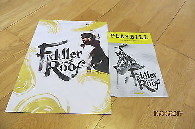 Fiddler On The Roof New York 2016 (brochure and programmes)