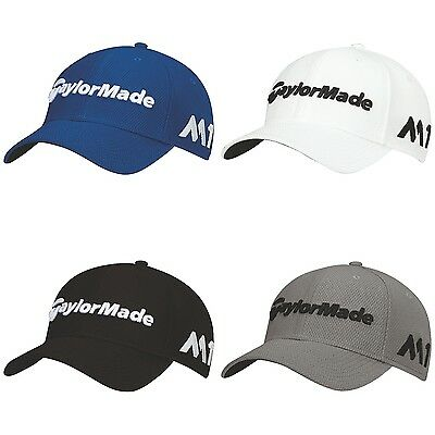 New For 2017 - TaylorMade Golf New Era Tour 39Thirty Fitted Men's Golf Cap/Hat