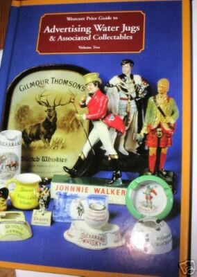 Advertising WHISKY JUGS*BEER*Glasses* COLLECTORS BOOK* -POST FREE*EUROPE*