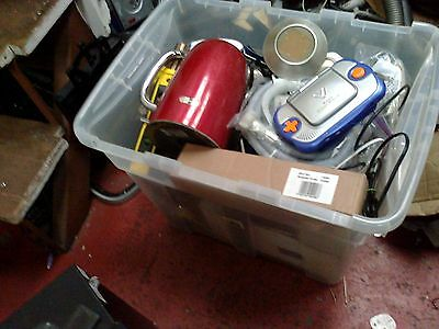 Job Lot Of Boot Sale Items - Electricals, Toys Etc... - (289)
