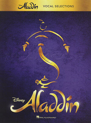 Disney's Aladdin Vocal Selections Sheet Music Book Arabian Nights Prince Ali