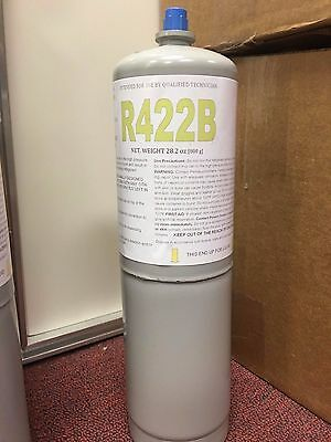 R22 R-22 Refrigerant Replacement, NU22B, R422B, Replaces R22, R-407C, & R-417A