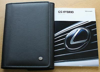 Lexus Gs Hybrid Handbook Owners Manual Wallet 2012-2015 Pack 8453
