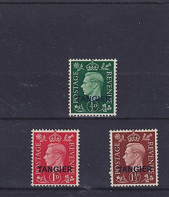 Morocco Agencies Tangier KGVI SG 245/247 Mounted Mint Collection