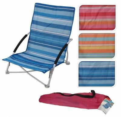 Portable Foldable Folding Garden Patio Beach Camping Fishing Picnic Arm Chair