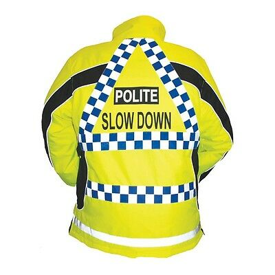 SALE EQUISAFETY POLITE ASPEY WINTER PADDED JACKET reflective safety coat