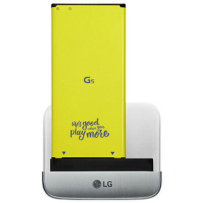 New Genuine LG G5 Cam Plus Module Camera Attachment - Silver (CBG-700.AEUASVP)