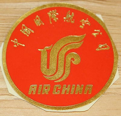 Old Air China Airline Sticker