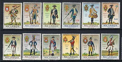 "MOZAMBIQUE 1966 - ""Portuguese Military Uniforms"" - cmpt set - MNH"