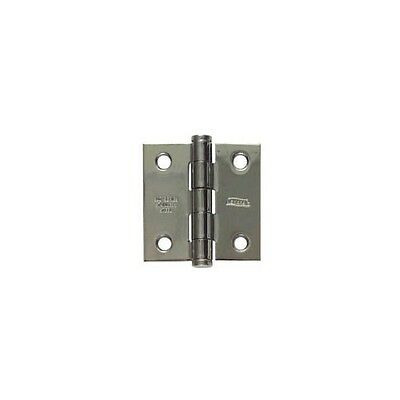 """National and Stanley 20900652 Door Hinge - Mortise 2"""" X 2"""" - Stainless Steel"""
