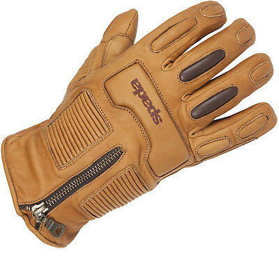 Spada Rigger Leather Motorcycle Motorbike Gloves Waterproof Thermal GhostBikes