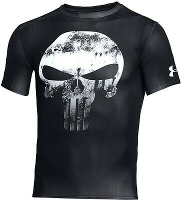 Under Armour Alter Ego Punisher T-Shirt tshirt black schwarz Medium