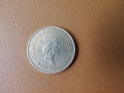 Queen Mother 90th Birthday £5 coin FREE POSTAGE