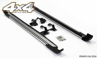 For Toyota RAV 4 2013 - 2015 Side Steps Running Boards Set - Type 2 RAV4