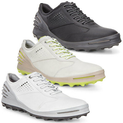 Ecco 2017 Mens Cage Pro Performance Tech Leather Golf Shoes