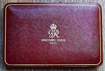 SUPER NICE 1937 George VI Coronation Year Proof Set with Original Case