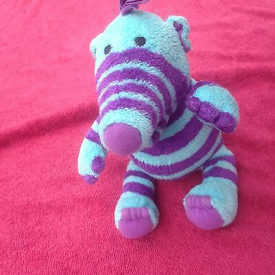 Flimble Florrie Charecter Soft Toy Measures 14Cm Tall Purple And Blue Fimbles