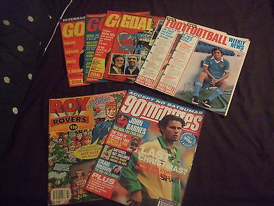 Job Lot of Football Magazines from the 1970's