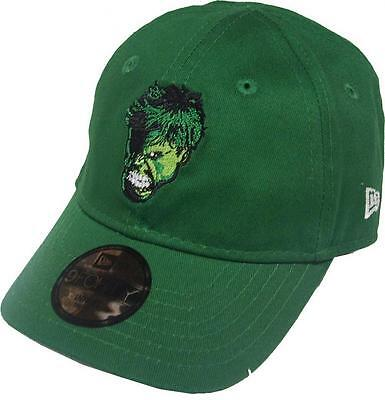 New Era Marvel Hulk Hero Essential 9Forty Elasticback Cap Infant Seaugling New