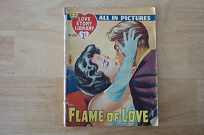 Vintage 1959 Love Story Picture Library No.254.Pin Up Alan Ladd