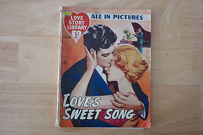 Vintage 1959 Love Story Picture Library No.256.Pin Up George Nader