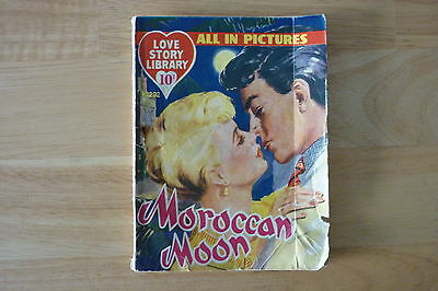 Vintage 1958 Love Story Picture Library No.202.Pin Up Glenn Ford