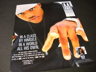 MASE In A Class By Himself - In A World All His Own 1997 PROMO POSTER AD mint