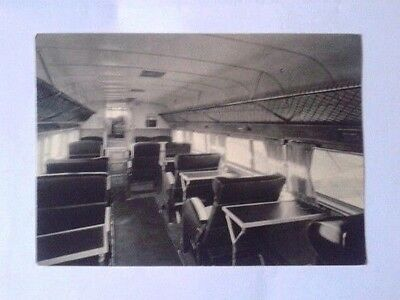 Airline-Issued Postcard / Air France / Dewoitine D-338 / Cabin Interior