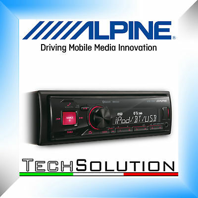 Alpine UTE-72BT Autoradio Stereo USB AUX Bluetooth 2 Pre Out - Garanzia ITALIA