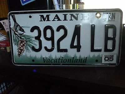 Number Plate from Maine [USA] 'Vacationland' 2005