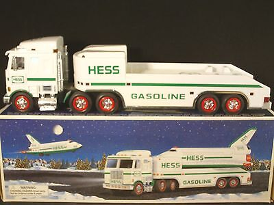 Hess Toy Truck & Space Shuttle with Satellite 1999 LQQk
