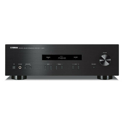 Yamaha AS201-BLACK 200w RMS Hi-Fi Amplifier with Pure Direct Sound Mode