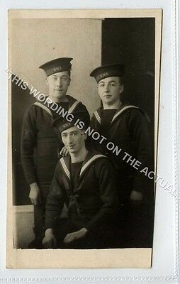 (Ld4011-469) RP, Group of  Unknown Sailors, 1942  Unused  G-VG,