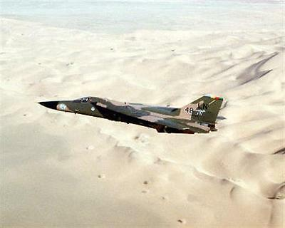 1990 MR Desert Shield F-111F 48th Tactical Fighter Wing 8x10 Photo
